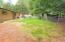 Backyard; fully fenced