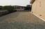 gravel side yard