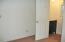 Bedroom 2 to half bathroom