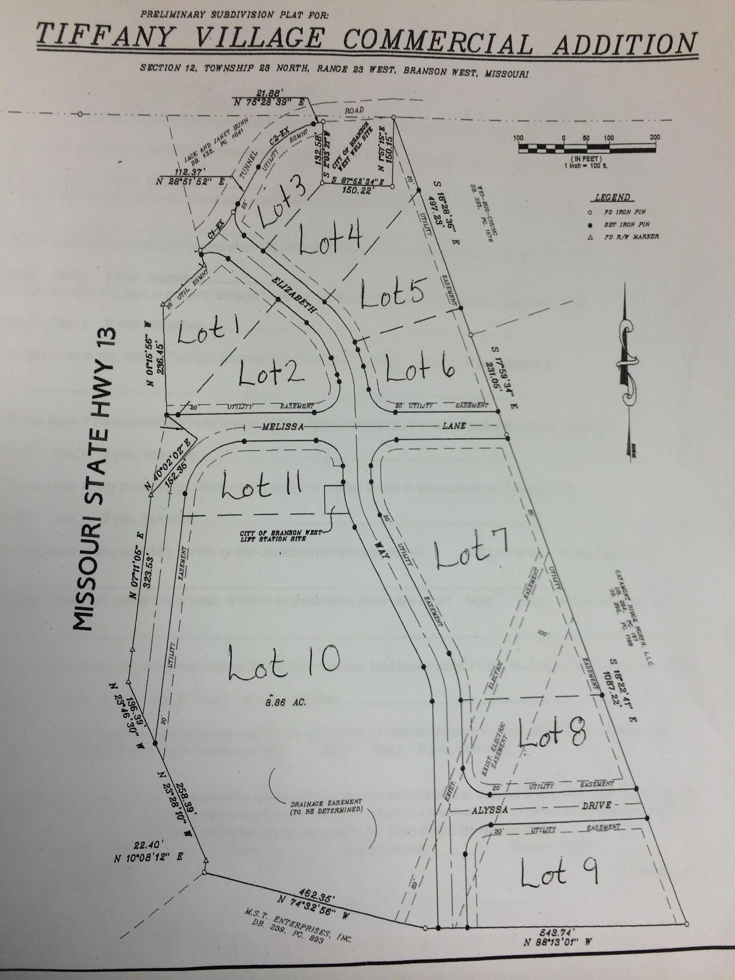 Lot #11 Tiffany Village Branson West, MO 65737