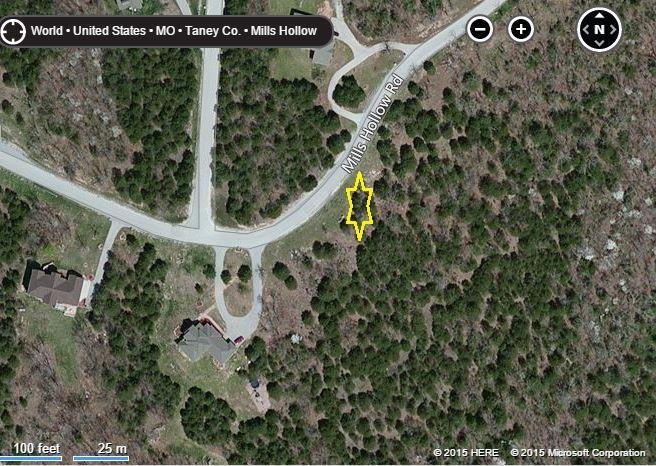 Lot 3 Mills Hollow Road Branson, MO 65616