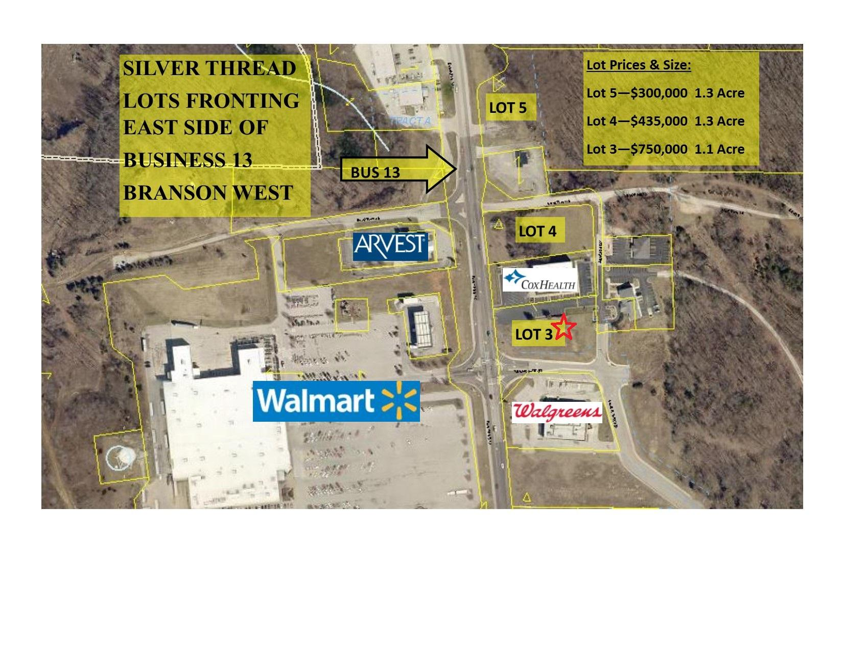18410 Business 13 Branson West, MO 65737