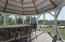 Inside Gazebo is spacious and well appointed with rope lighting, sun shades, and screens to keep the bugs out. Enjoy the many uses of this space and make the memories that will last a lifetime.