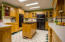 Cooks Delight of a kitchen! Double ovens & electric cook top with newer coil burners.