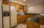 Wet bar in basement.