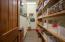 Large walk-in pantry