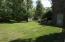 Huge fenced back yard area within the acreage