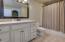 Full bath on walk-out basement level