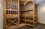 Hidden room off wine cellar