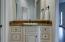 His and Her vanities in Master bathroom