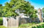 Privacy fence near the house lets you enjoy your deck and green space.