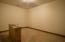Closet for third upstairs bedroom. It's huge!