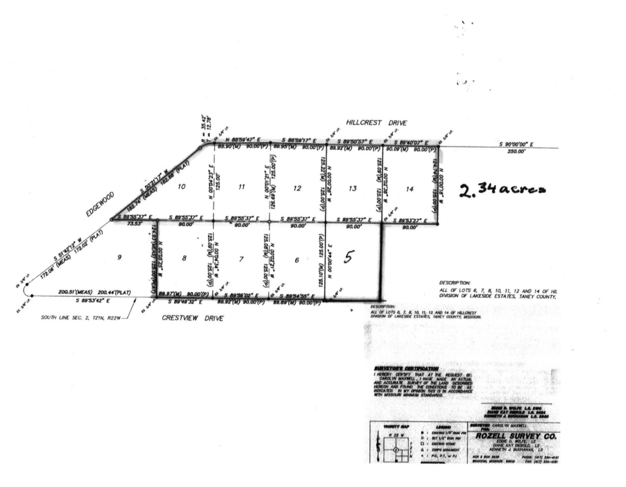 200-299 Crestview Drive #Lots 567810111213 Ridgedale, MO 65739
