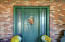 Double Lighted Programmable Front Door