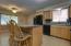 Gorgeous huge Kitchen; island & in kitchen dining area