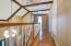 Catwalk upstairs landing; Master Suite, bedroom 3; 2 Baths upstairs