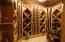 Walk-In Wine Celler in Basement