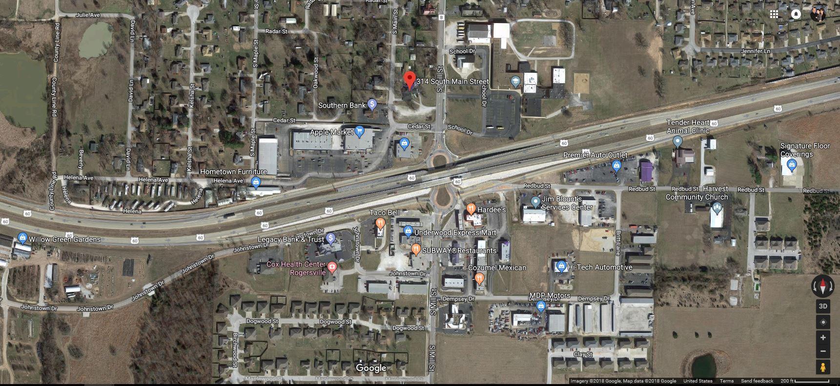 314 South Main Street Rogersville, MO 65742