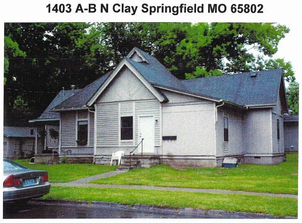 1403 North Clay Avenue Springfield, MO 65802