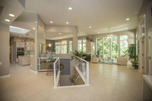 The view when you walk in. Open concept and an abundance of natural light.
