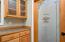 Decorative pantry door