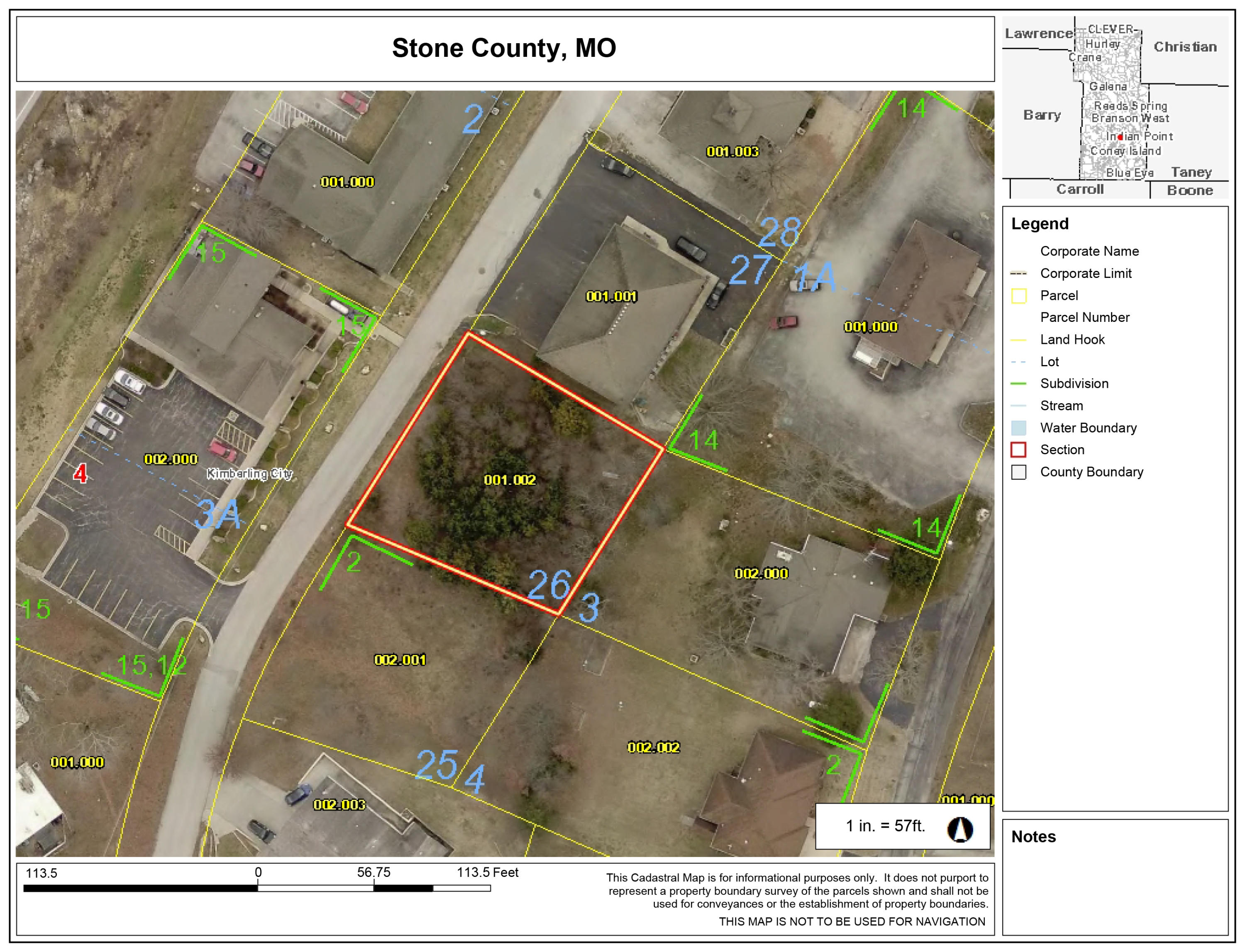 Lot 26 Fisher Creek Road Kimberling City, MO 65686