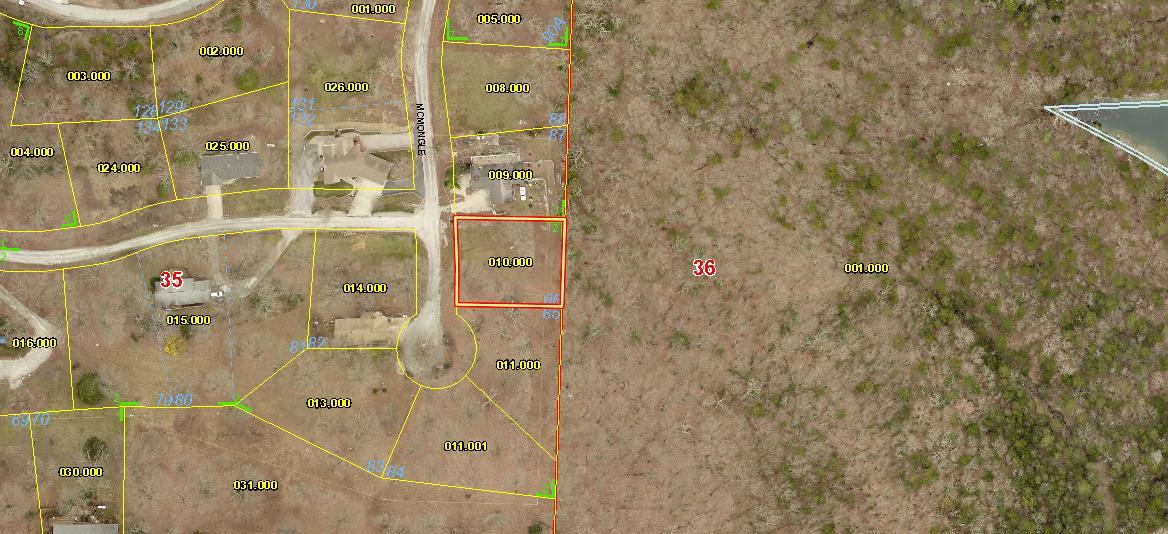 Lot 86 Mcmongle Court Blue Eye, MO 65611