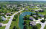Beautiful neighborhood with large pond and fountain