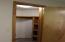 Downstairs Bedroom 2 Closet