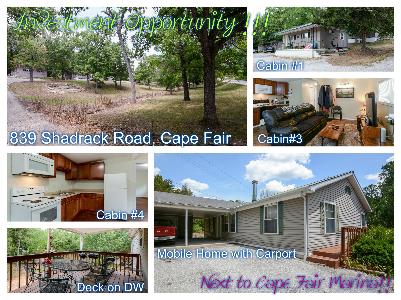 839 Shadrack Road Cape Fair, MO 65624