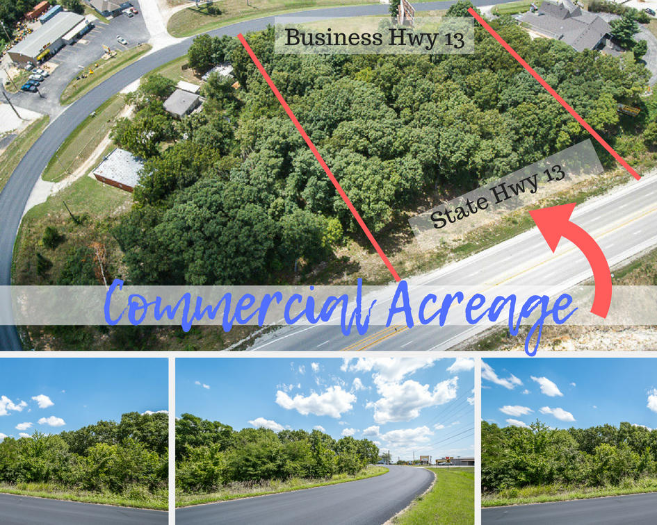 1.87 Acres Business 13 Highway Branson West, MO 65737