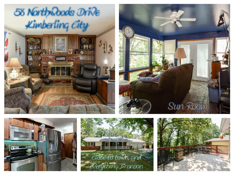 58 Northwoods Drive Kimberling City, MO 65686