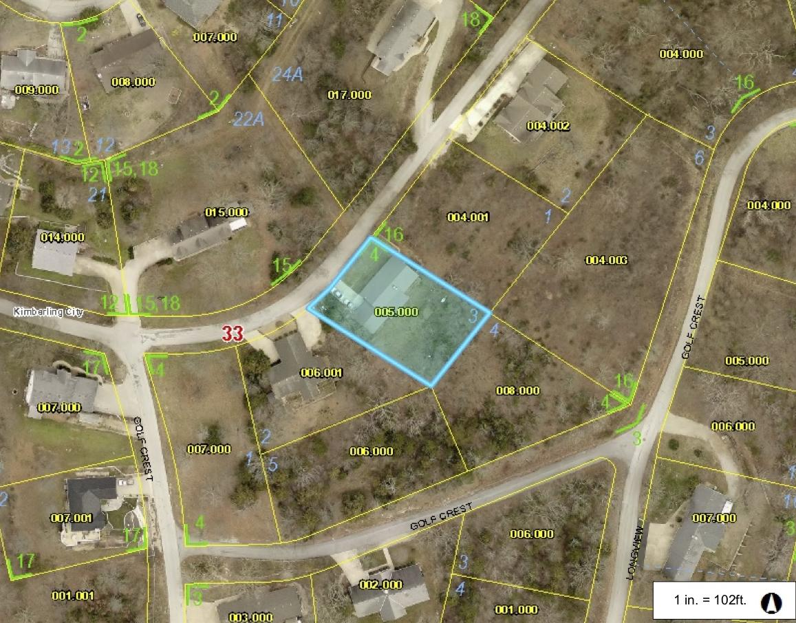 6 Greenview Drive Kimberling City, MO 65686