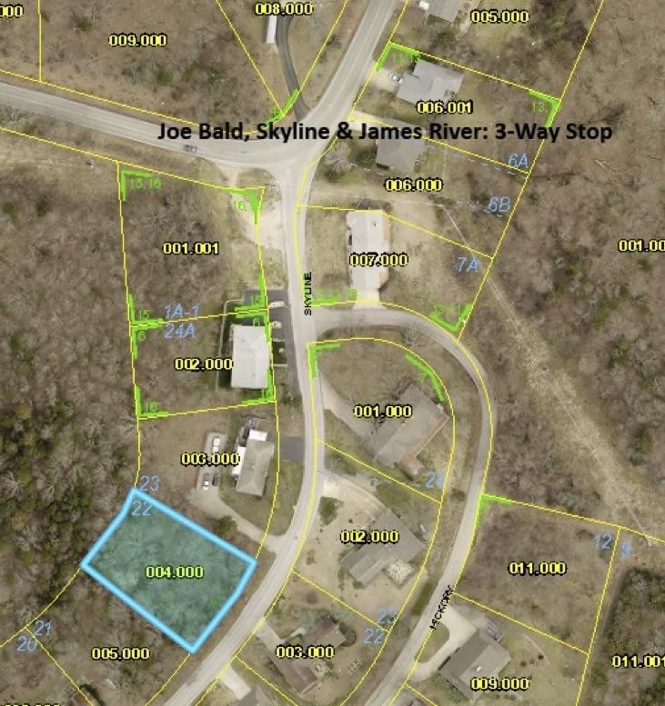 Lot 22 Skyline Drive Kimberling City, MO 65686