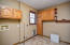 Mud room and utility off of garage