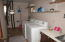 Laundry room and utility room.