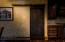 Walk in Pantry with Rolling Doors!
