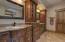 Dual Vanity Area & Custom Craftsmanship..