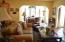 Hearth room open to breakfast area