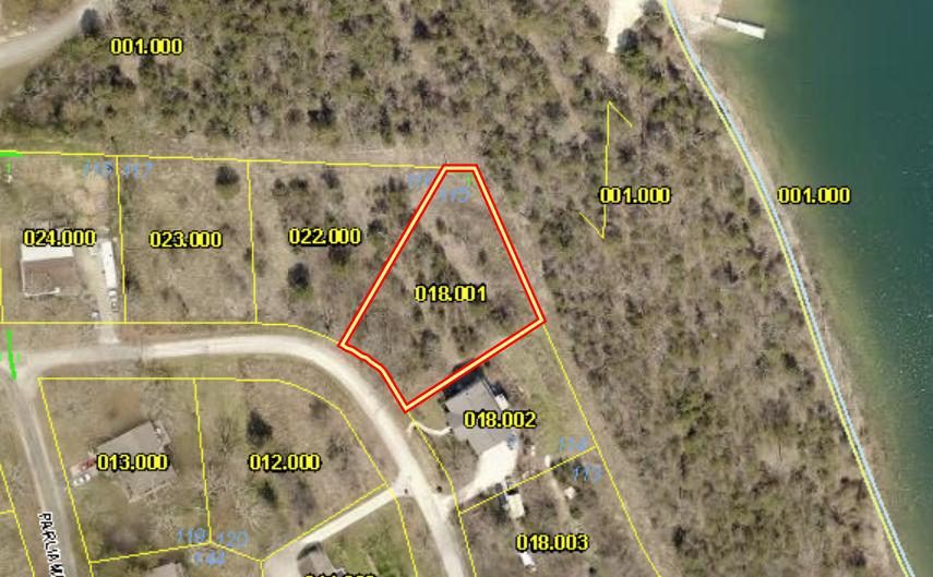 Lot 115 Hallie Drive Blue Eye, MO 65611