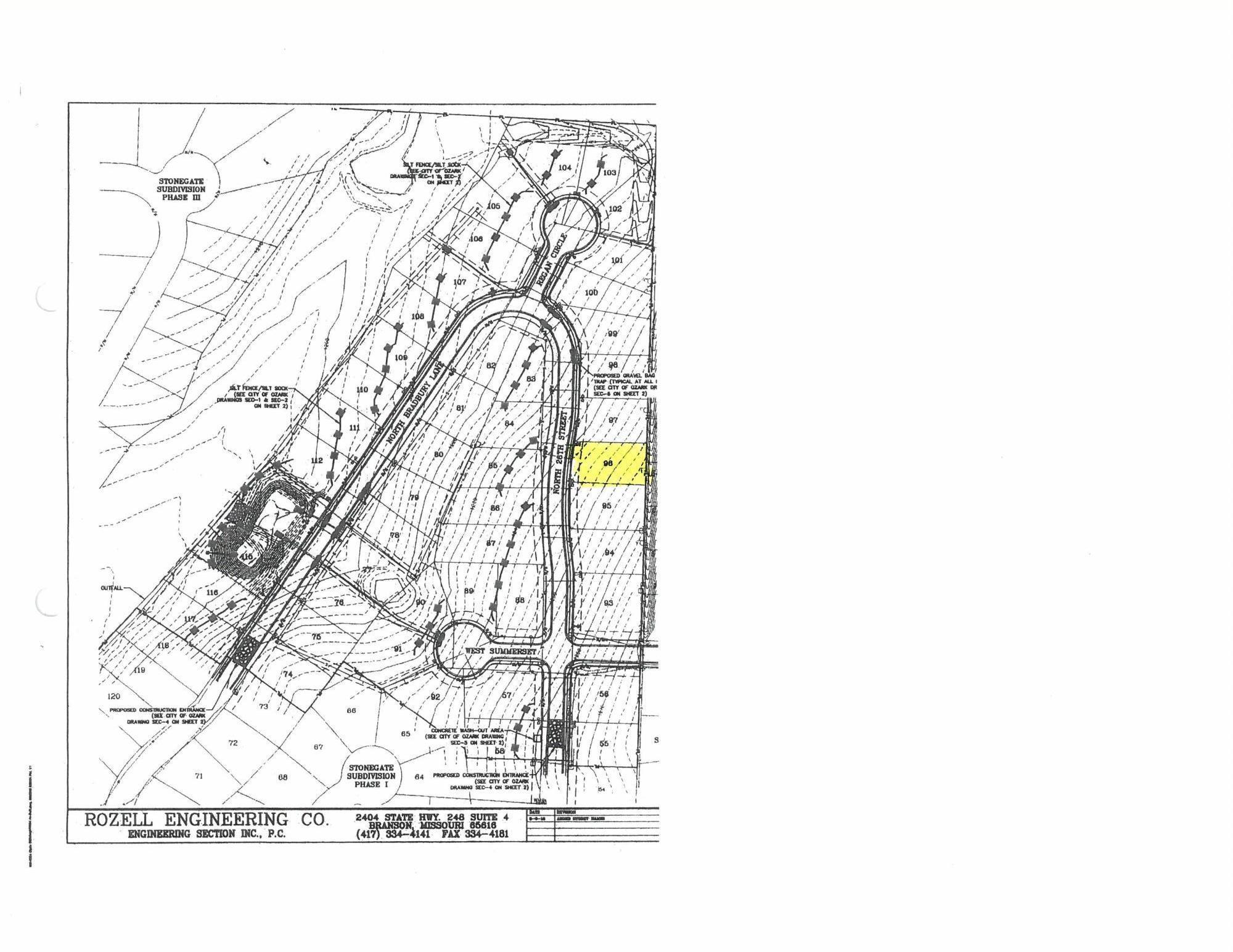Lot 96 Bradbury #Stonegate Ozark, MO 65721