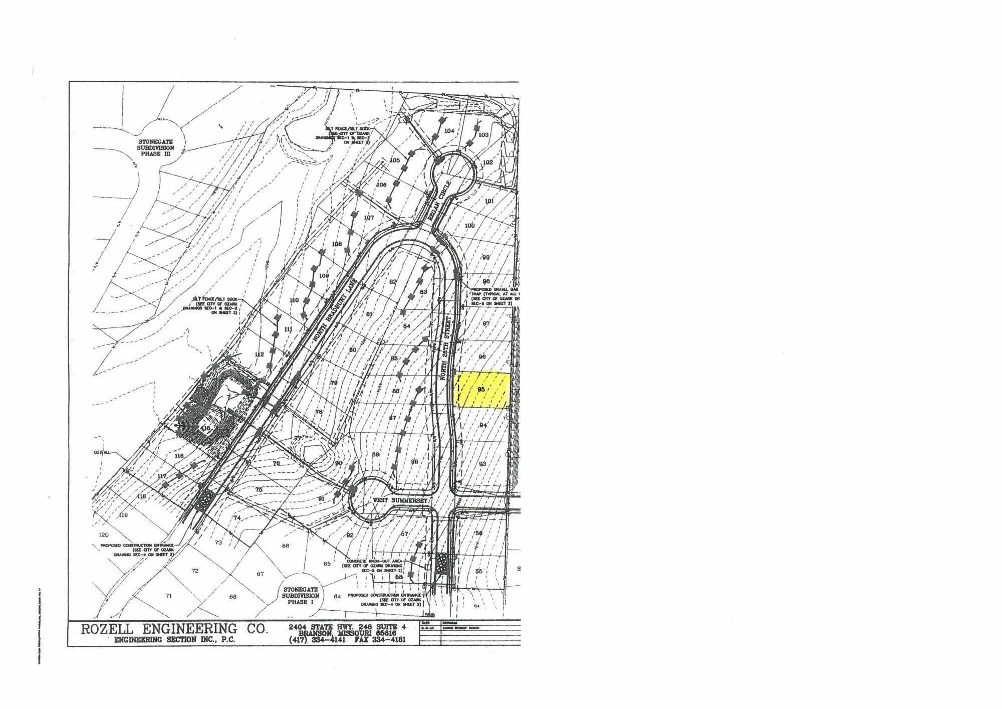 Lot 95 Bradbury #Stonegate Ozark, MO 65721