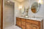 All new bathroom features curbless marble floor tiled shower for Two