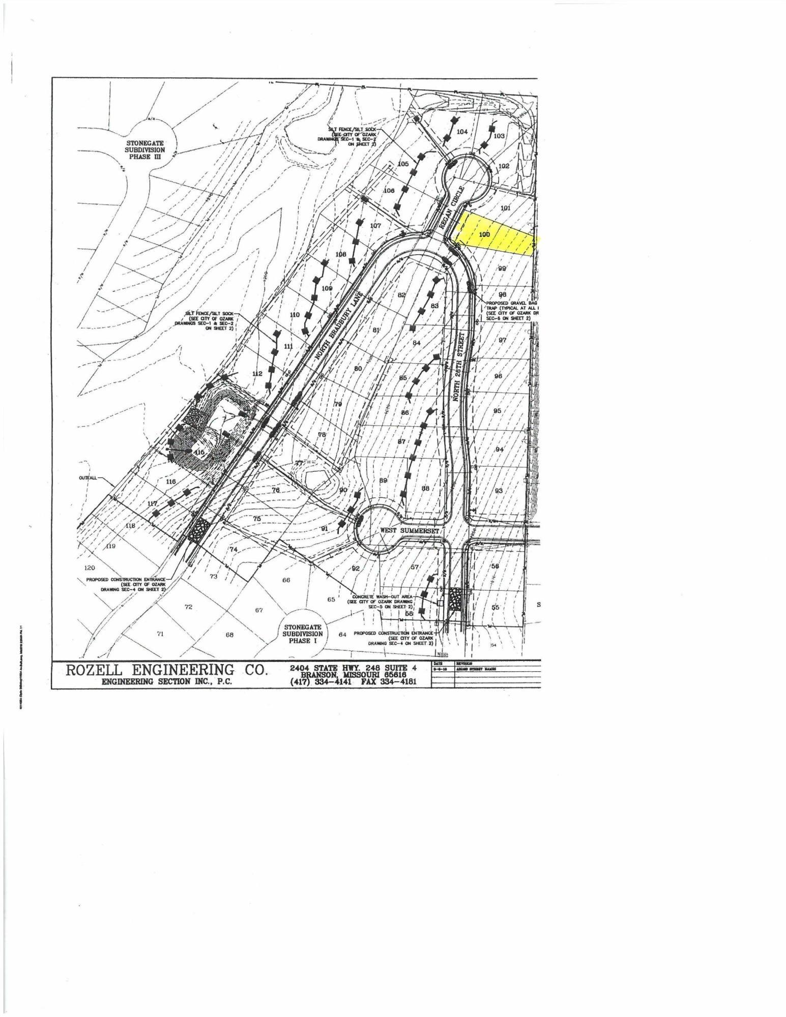 Lot 101 Bradbury #Stone Gate Ozark, MO 65721