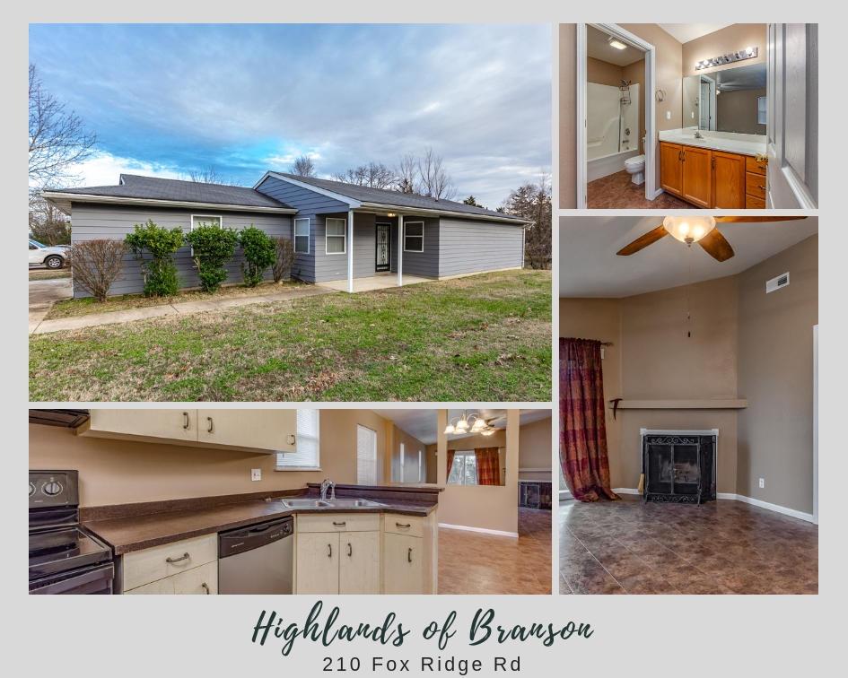 210 Fox Ridge Road Branson, MO 65616
