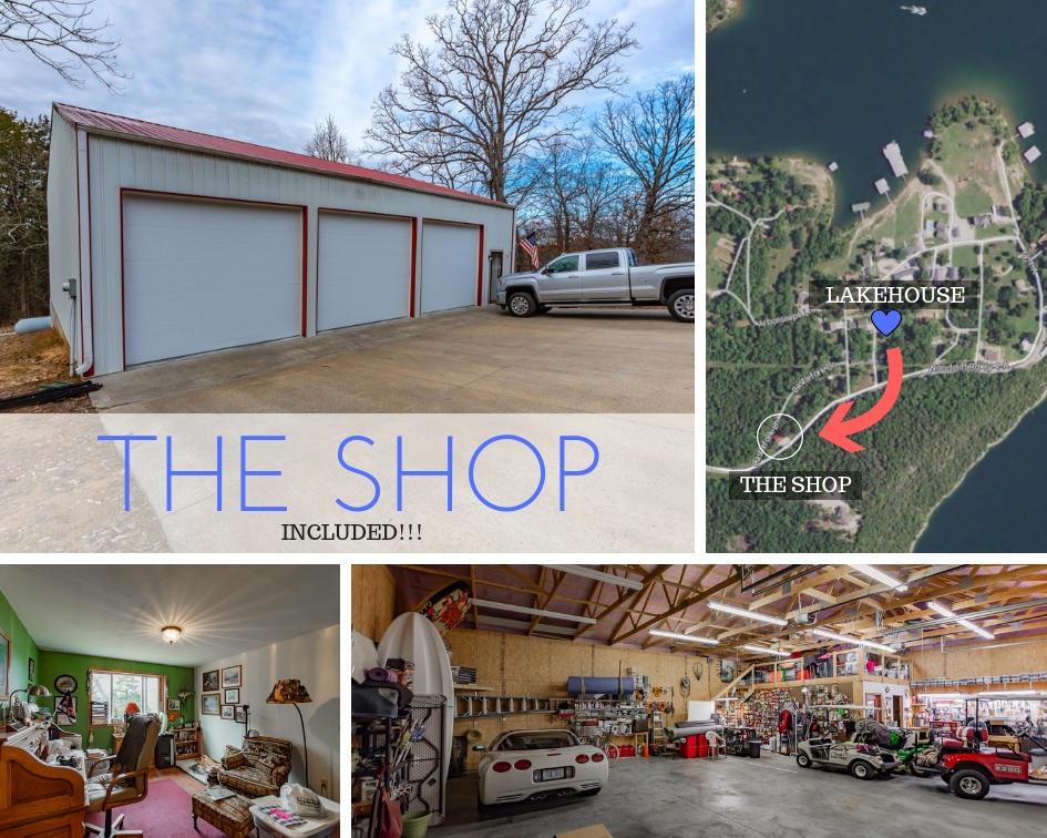 72 Herland W/shop Building Lane Shell Knob, MO 65747