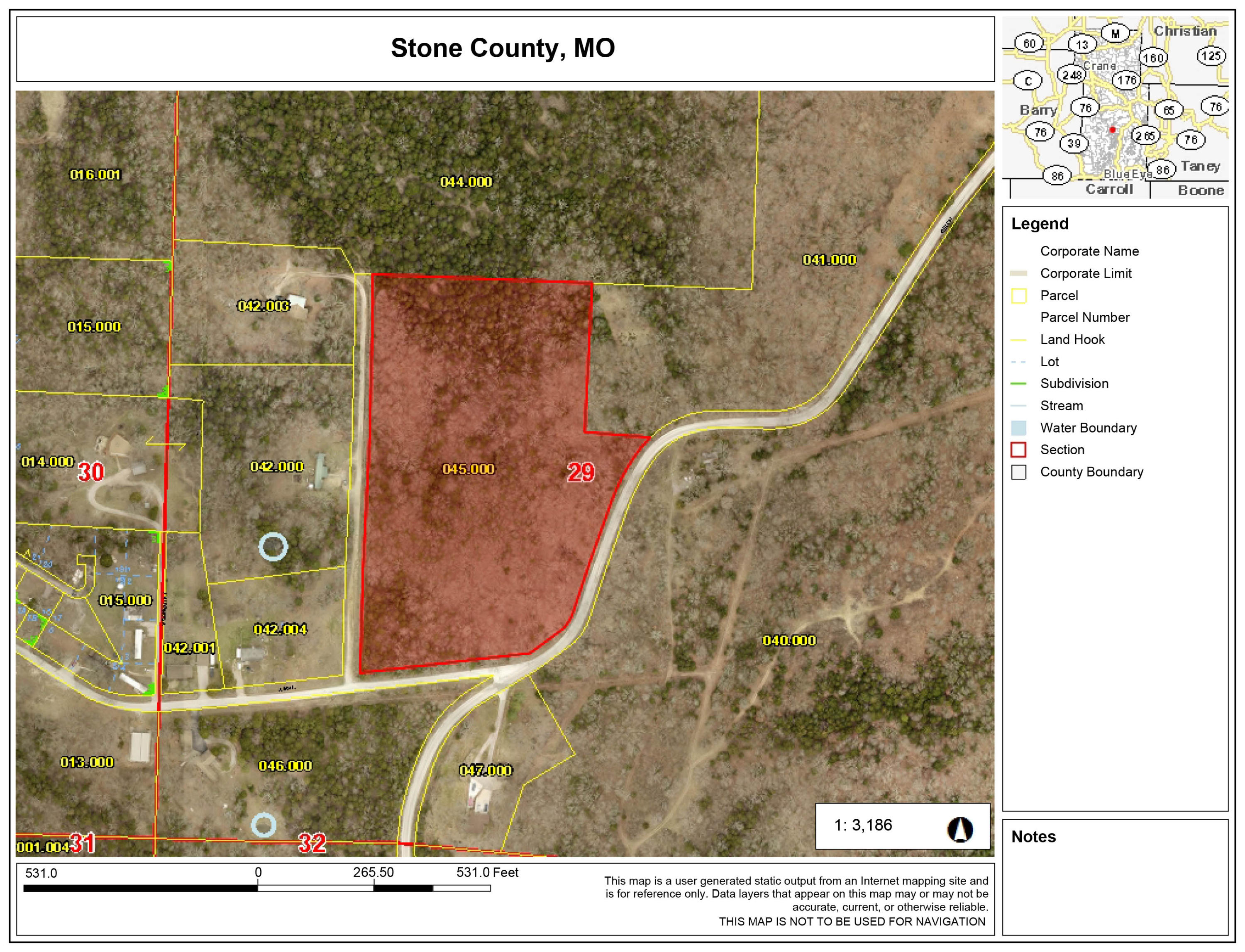 10.8 Acres Welch Road