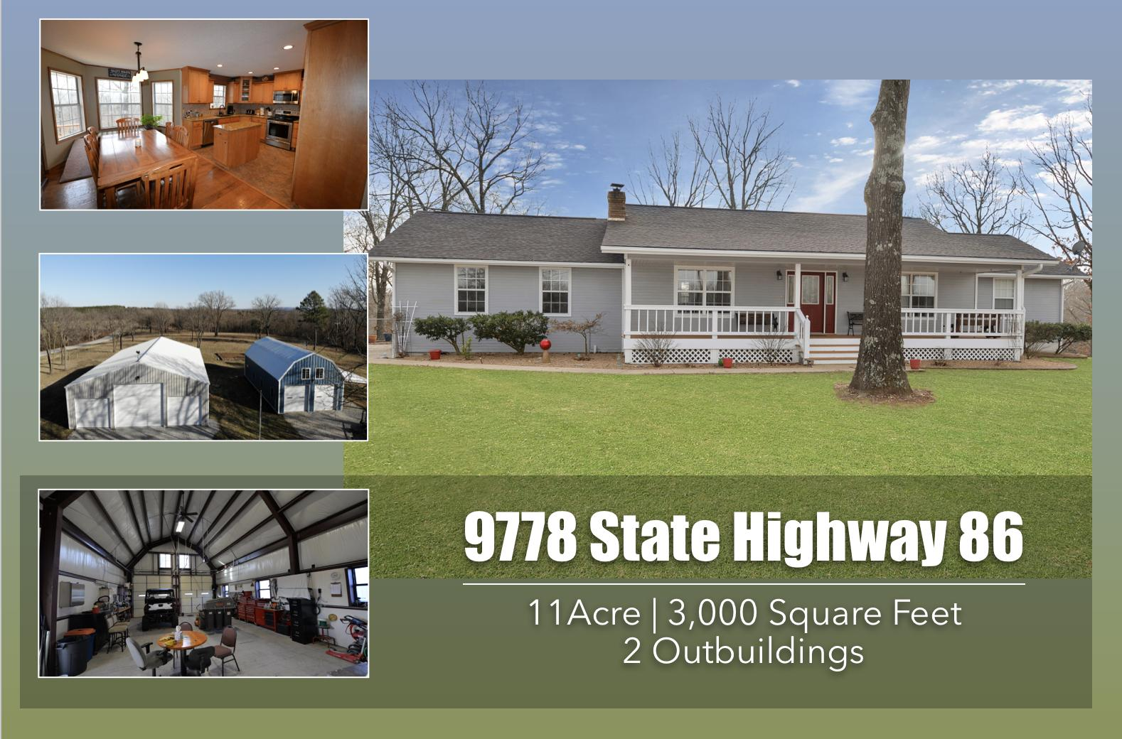 9778 East State Hwy Blue Eye, MO 65611