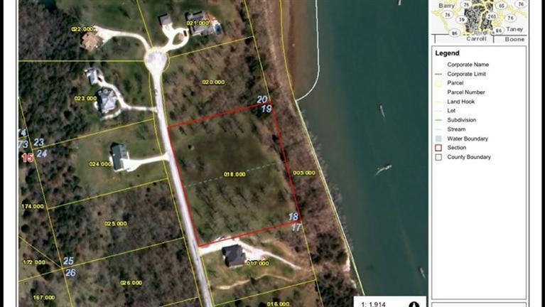 Lot 18, 19 Bywater Dr Cape Fair, MO 65624