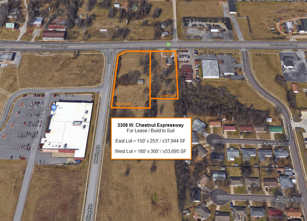 3308 West Chestnut (west Lot, Lease) Expressway Springfield, MO 65802